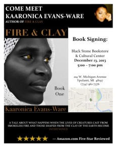 Black Stone Book Signing